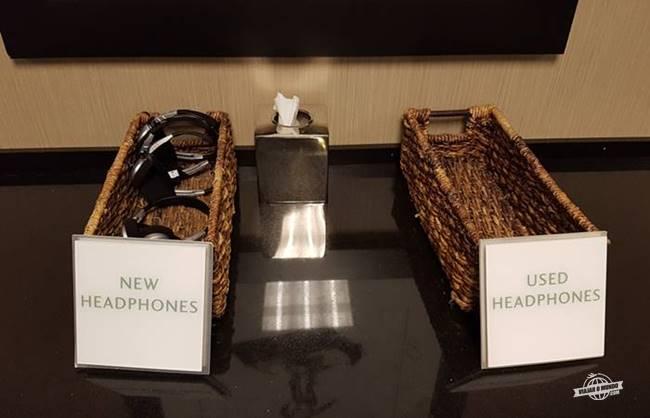 Fones de ouvido da academia - Hyatt Regency McCormick Place