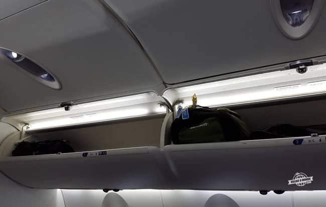 Compartimento para bagagem