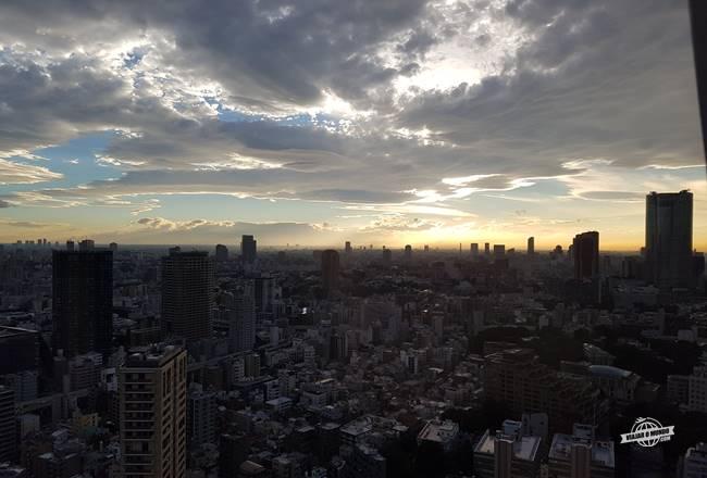 Fim de tarde na Tokyo Tower