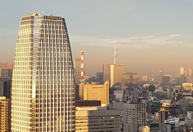 Tokyo Skytree ao fundo