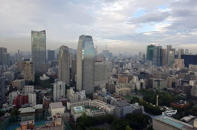 Tóquio vista da Tokyo Tower durante o dia