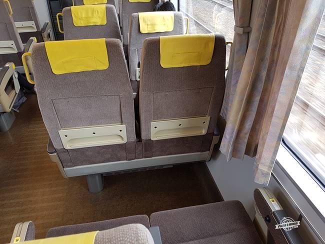 Haruka do Aerporto de Kansai para Kyoto