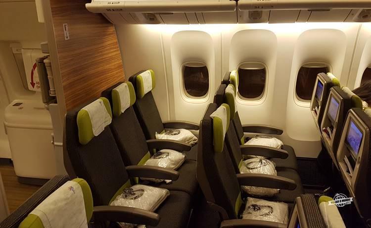Classe Econômica do Boeing 777 da LATAM