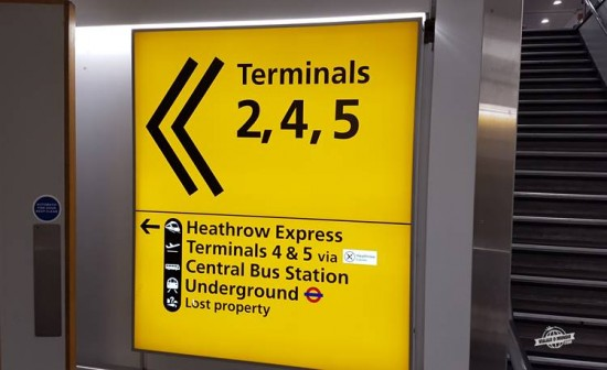 Como ir de trem do aeroporto Heathrow para Londres