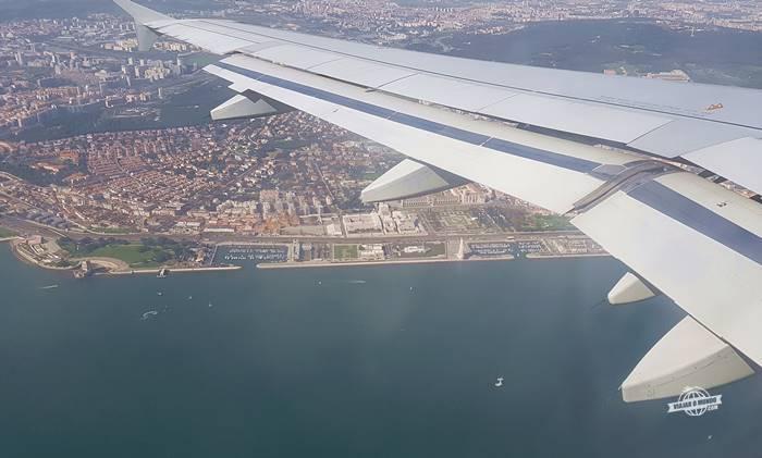 Sobrevoando Lisboa