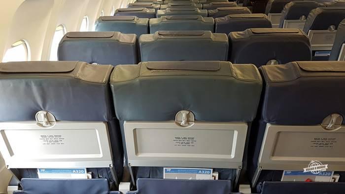 Assentos da Classe Econômica da TAP