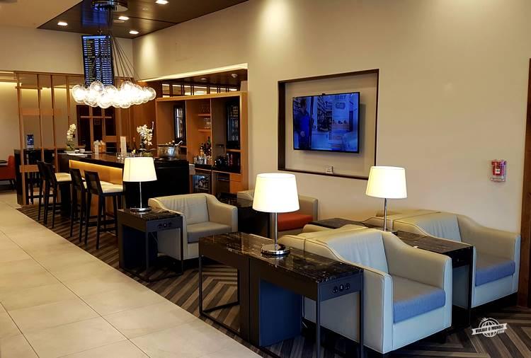 Sala VIP SilverKris Lounge Singapore em Heathrow