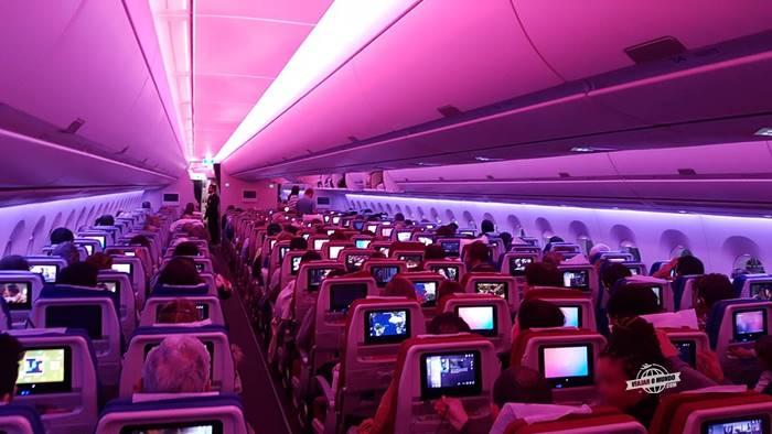 Classe Econômica do A350 da Latam