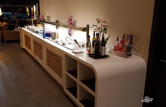 Buffet - Sala VIP Neptuno Lounge