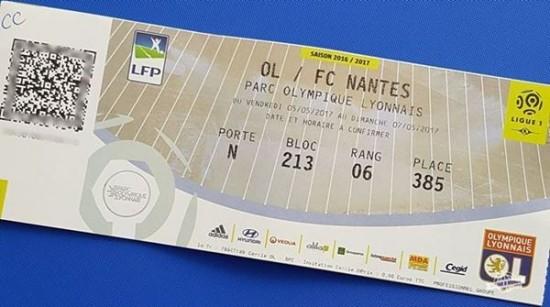 Entrada para o jogo OL x Nantes - Cercle OL: experiência VIP do Olympique Lyonnais
