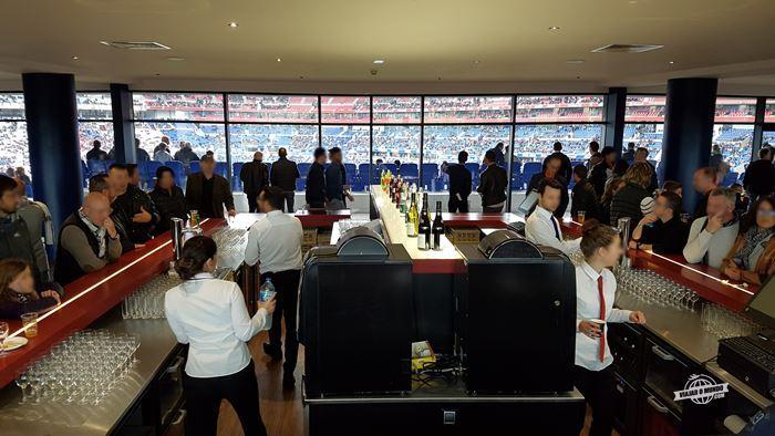 Bar - Cercle OL: experiência VIP do Olympique Lyonnais