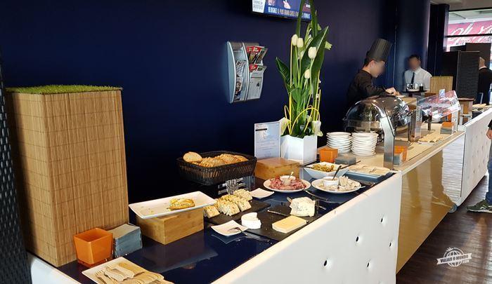 Buffet - Cercle OL: experiência VIP do Olympique Lyonnais
