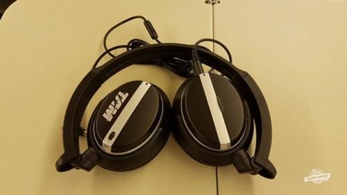 Fones de ouvido - Classe Executiva da Latam
