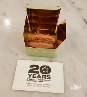 Macaron Ladurée - 20 anos da Star Alliance