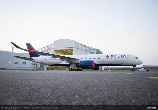 A350 da Delta - Photo by JB. ACCARIEZ