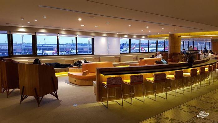 Ambiente principal - Gol Premium Lounge Doméstico do Aeroporto de Guarulhos