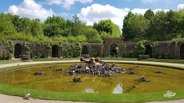 Bosquet de L'encelade - Jardins e Palácio de Versailles