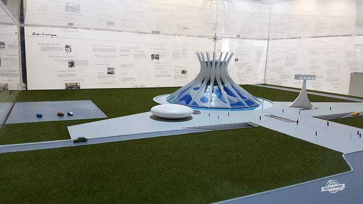 Maquete da Catedral de Brasília - MON