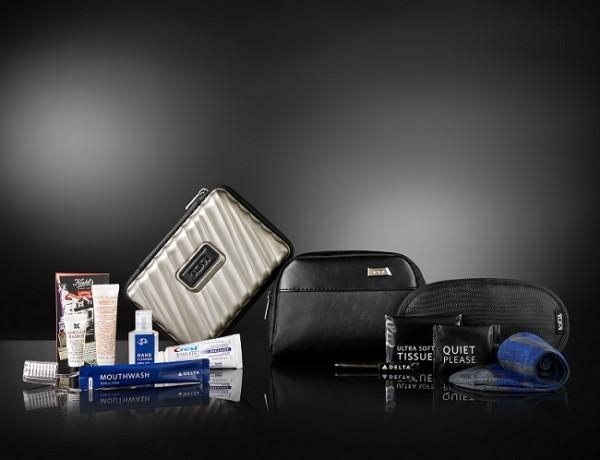 Delta oferece personalização de Amenity Kit