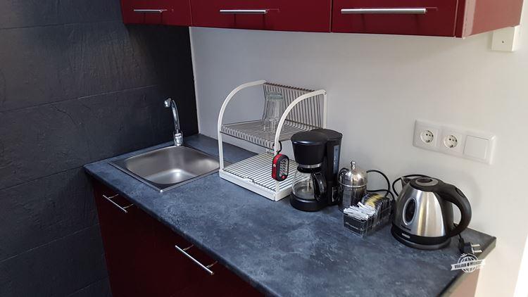 Cozinha - alugando apartamento em Lisboa