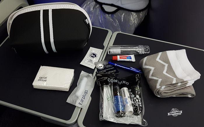 Amenity kit Saks Fifth Avenue - Classe Executiva United Polaris