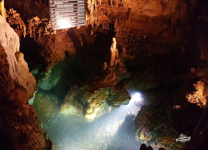 Fonte dos desejos - Luray Caverns