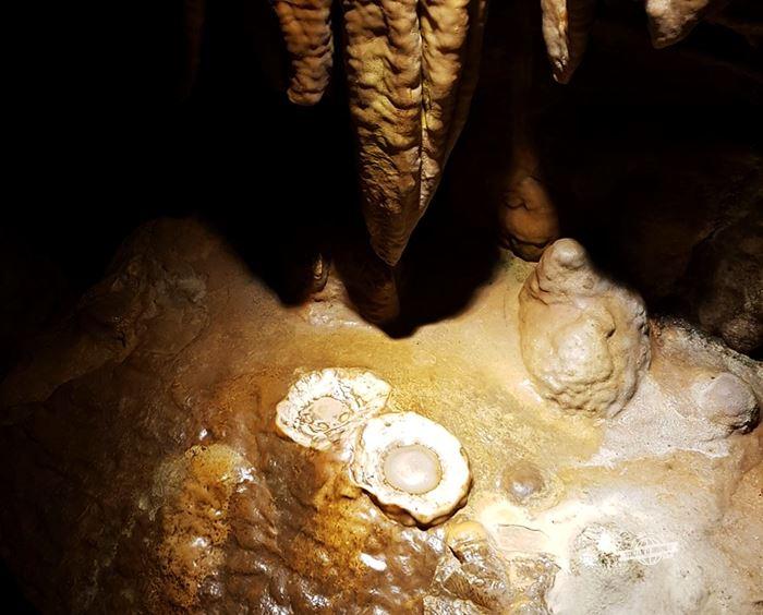 """""""Ovos fritos"""" - Luray Caverns"""