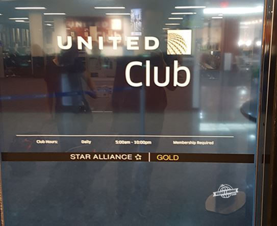 United Club - Sala VIP da United em Dulles