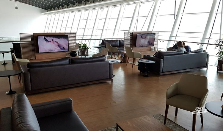Ambiente principal - Express Club Pier Norte do Aeroporto de Brasília