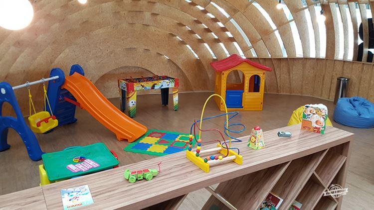 Espaço Kids - Express Club Pier Norte do Aeroporto de Brasília