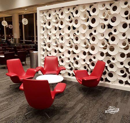 Ambientes - Delta Sky Club B17 do Aeroporto de Atlanta
