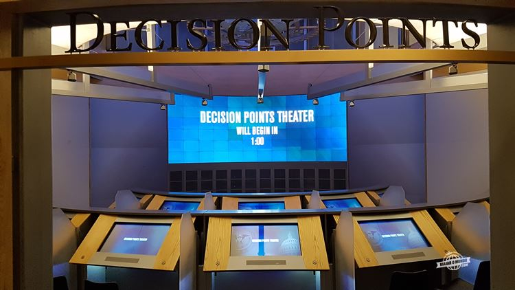 The Decision Points Theater - George W. Bush Presidential Library & Museum