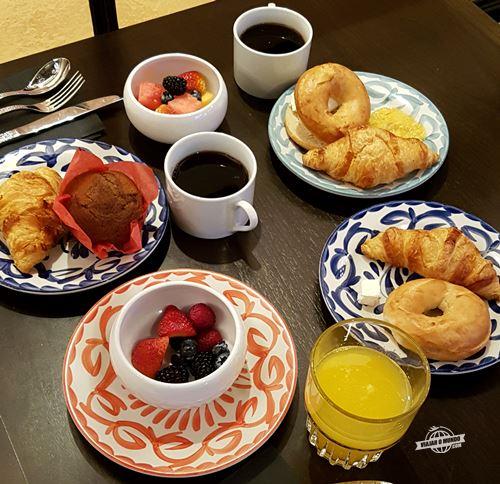 Café da manhã - Hotel Valencia Riverwalk