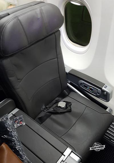 Assento da Primeira Classe do 737-800 da American Airlines