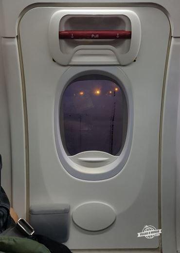 Saída de emergência do 737-800 da Delta