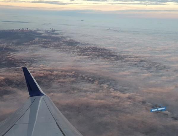Como é voar na saída de emergência do 737-800 da Delta