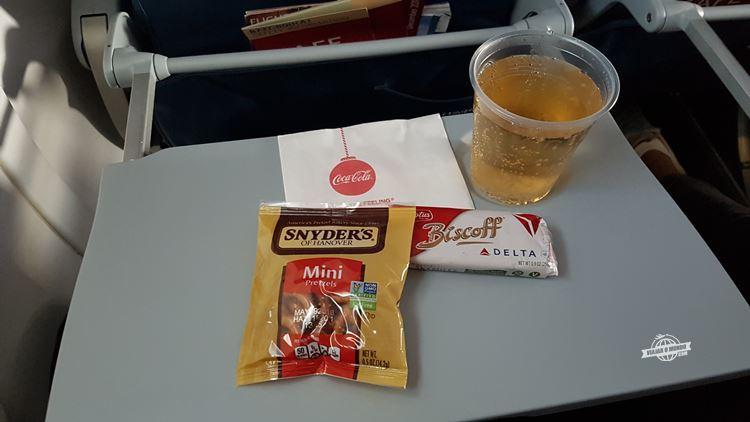 Bebida e snacks - Delta