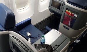 Como é voar na Classe Executiva Delta One do 767 (ATL – GIG)