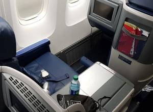 Como é voar na Classe Executiva Delta One do 767 (ATL – GIG)