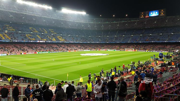 Arquibancadas do Camp Nou