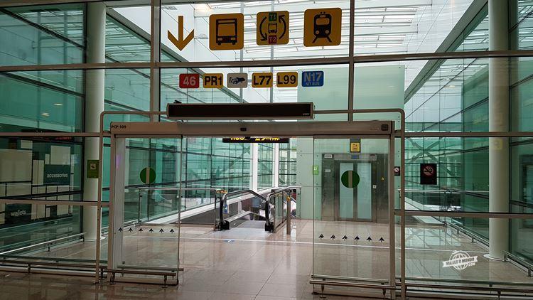 Localizando-se no aeroporto El Prat - Barcelona