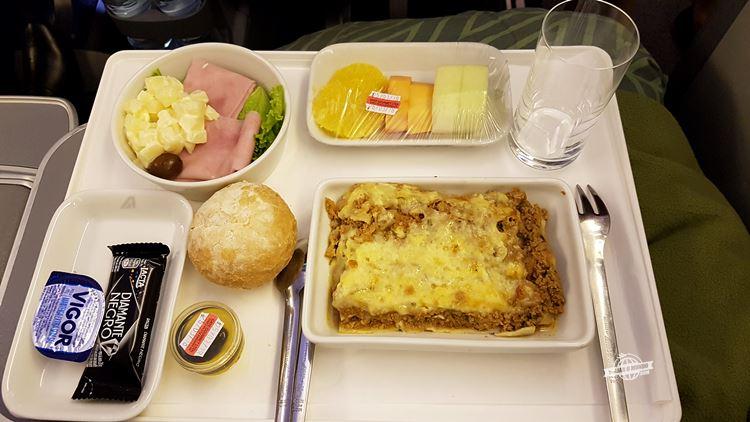 Jantar - Premium Economy da Alitalia