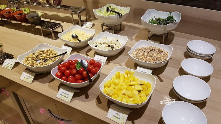 Saladas - Buffet da Sala VIP Casa Alitalia Fiumicino