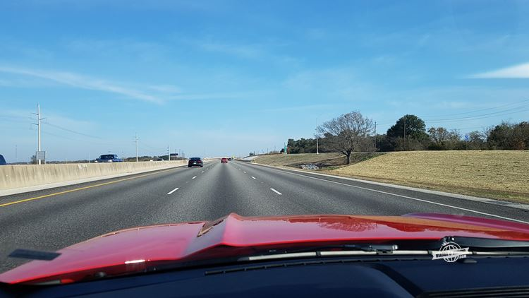 Pé na autoestrada I-35N