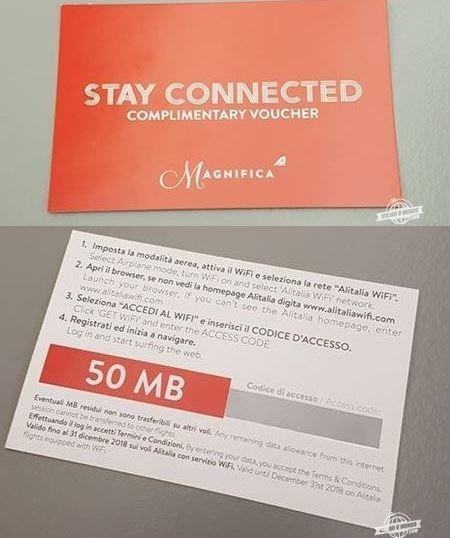 Vale 50 megas de Wi-fi a bordo da Alitalia