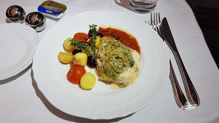 Segundo prato: peixe