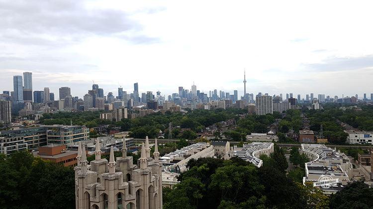 Totonto vista da Torre da Casa Loma