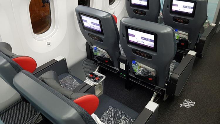 Premium Economy do 787-9 da Air Canada