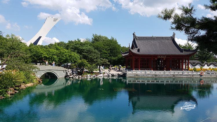 Jardim Chinês - Jardim Botânico de Montreal. Blog Viajar o Mundo.