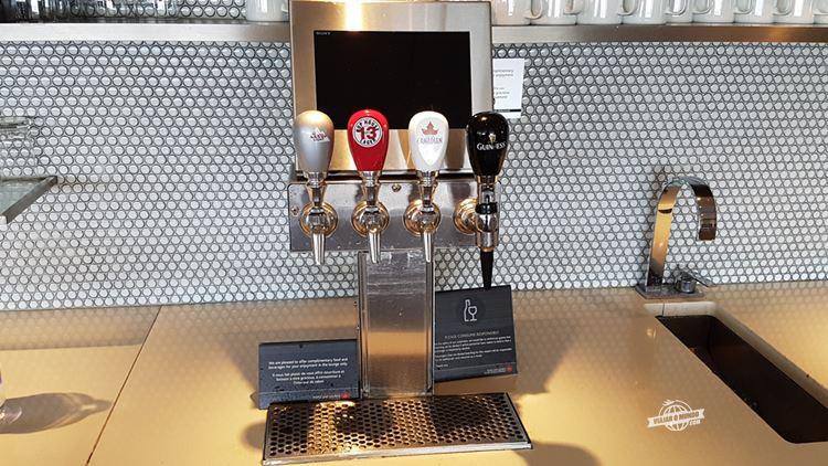Bebidas - Sala VIP Maple Leaf Transborder